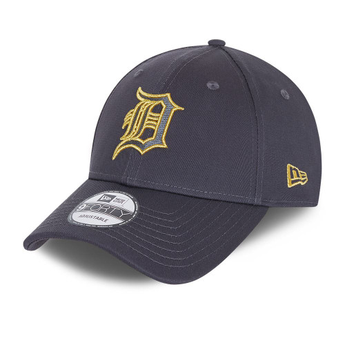 New Era NE Metallic Logo 9Forty Cap ~ Detroit Tigers navy