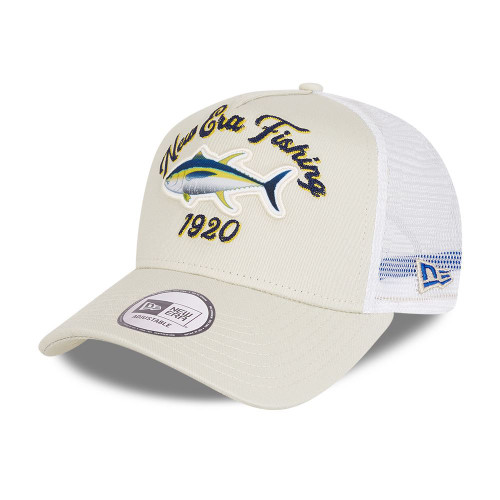 New Era NE Fishing Snapback Trucker Cap ~ Fishing stone