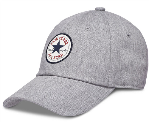 Converse Medium Curve Cap ~ Tipoff Chuck grey heather