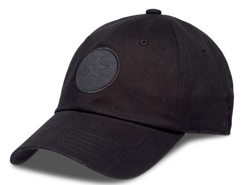 Converse Medium Curve Cap ~ Tonal Chuck black