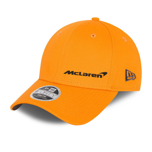 New Era Essentials 9FortySS Snapback Youth Cap ~ McLaren Youth orange