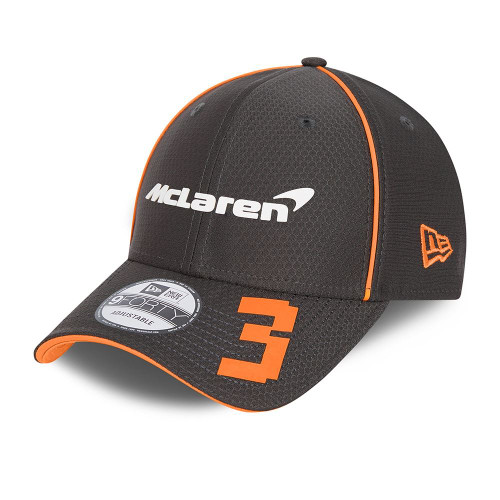 New Era Replica Driver Hex 9FortySS Snapback Cap ~ McLaren No. 3 black