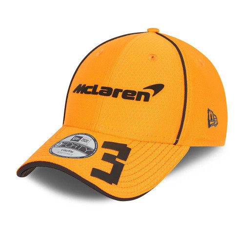 New Era Replica Driver Hex 9FortySS Snapback Youth Cap ~ McLaren No. 3 orange
