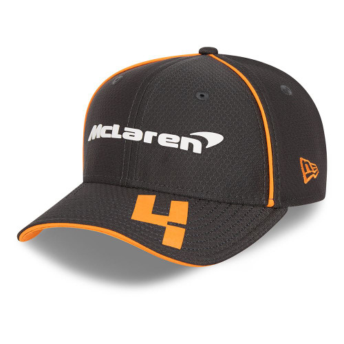 New Era Replica Driver Hex 9FiftySS Snapback Youth Cap ~ McLaren No. 4 black