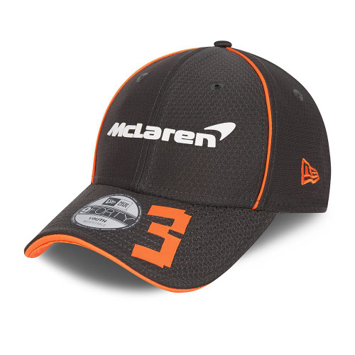 New Era Replica Driver Hex 9FortySS Snapback Youth Cap ~ McLaren No. 3 black
