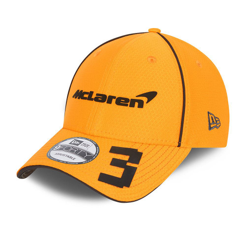 New Era Replica Driver Hex 9FortySS Snapback Cap ~ McLaren No. 3 orange