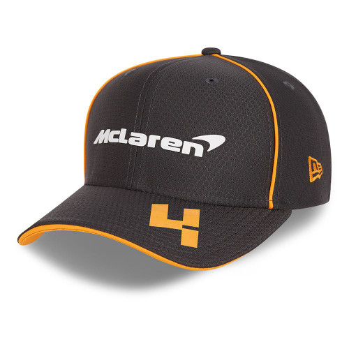 New Era Replica Driver Hex 9FiftySS Snapback Cap ~ McLaren No. 4 black
