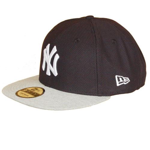New Era and MLB Jersey Diamond Mix 9Fifty Flatbill Cap ~ New York Yankees