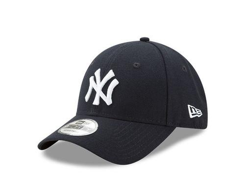 New Era 940 Adjustable League Cap ~ New York Yankees navy white