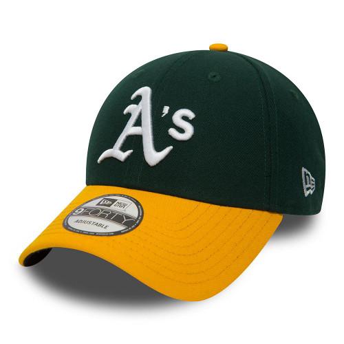 New Era 9Forty Adjustable Curve Cap ~ Oakland Athletics