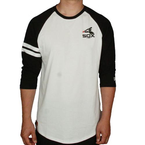 New Era and MLB Raglan T-Shirt ~ Chicago White Sox