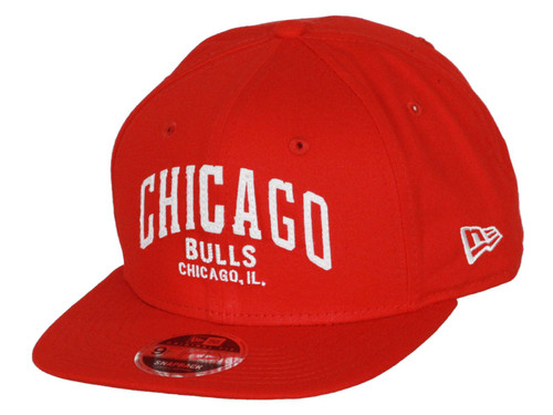 New Era Felt Script 9Fifty Cap ~ Chicago Bulls