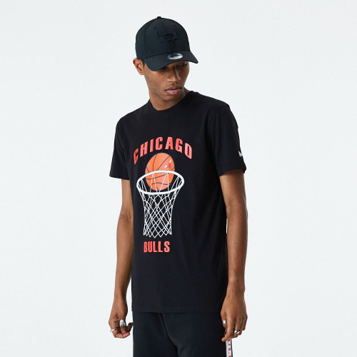 New Era NBA Basketball T-Shirt ~ Chicago Bulls
