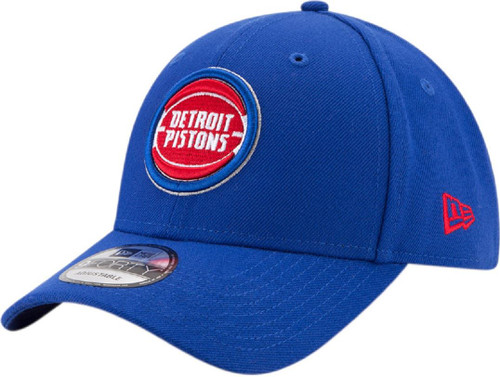 New Era 940 Adjustable League Cap ~ Detroit Pistons blue