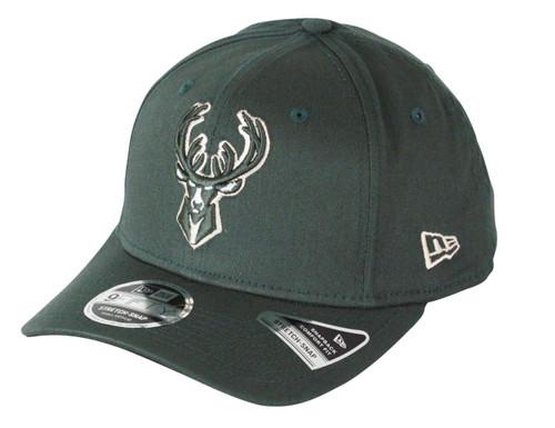 New Era Team Stretch 9Fifty Cap ~ Milwaukee Bucks