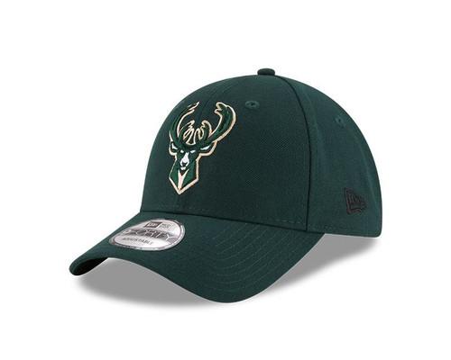 New Era 940 Adjustable League Cap ~ Milwaukee Bucks