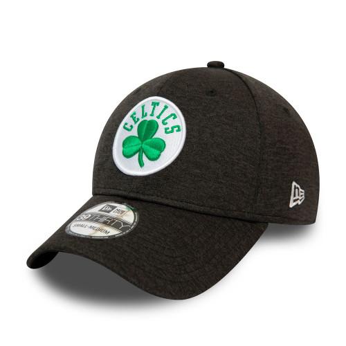 New Era Black Base Team Pop 39Thirty Cap ~ Boston Celtics
