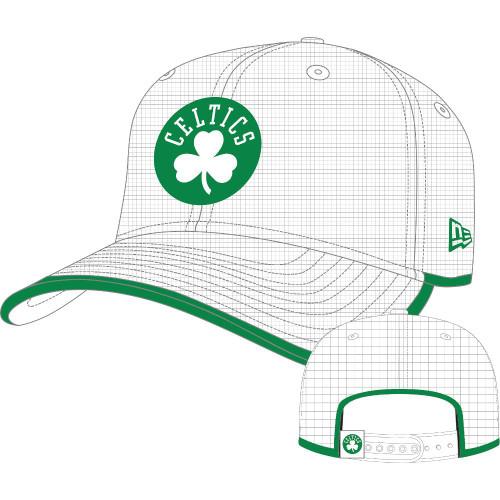 New Era and NBA Team 9Fifty Cap ~ Boston Celtics