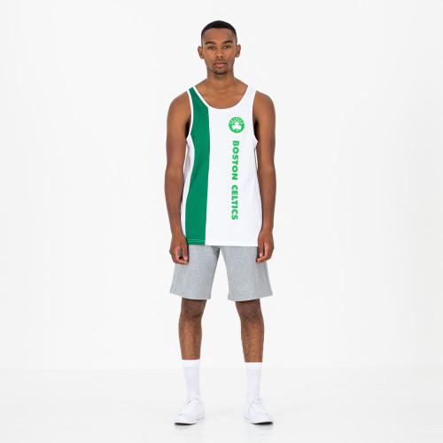New Era NBA Wordmark Tank T-Shirt ~  Boston Celtics