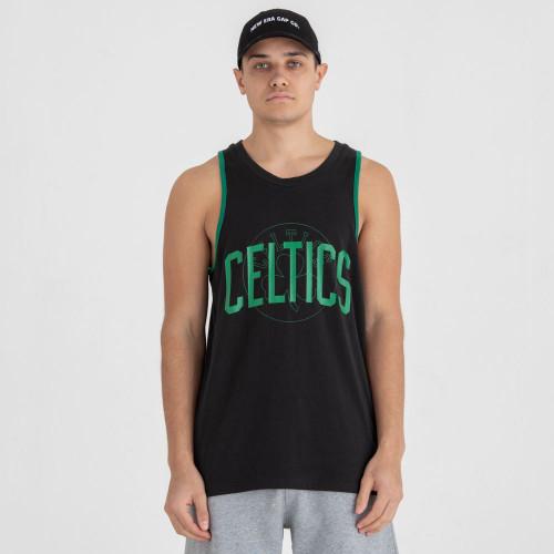 New Era NBA Double Logo Tank T-Shirt ~ Boston Celtics