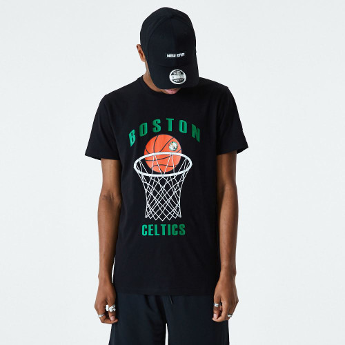 New Era NBA Basketball T-Shirt ~ Boston Celtics