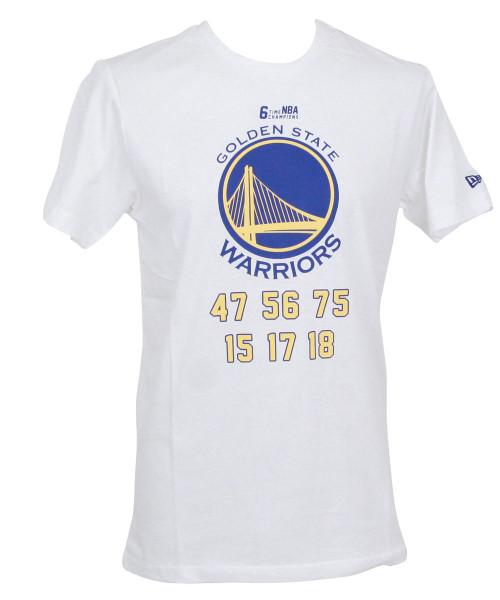 New Era NBA Team Champion T-Shirt ~ Golden State Warriors