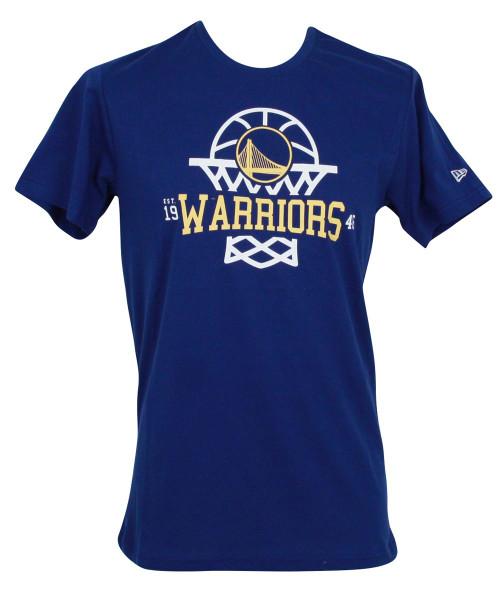 New Era NBA League Net Logo T-Shirt ~ Golden State Warriors