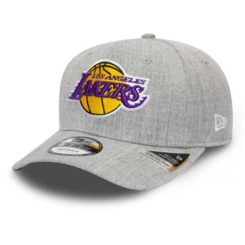 New Era Heather Base 9Fifty Stretch-Snap Cap ~ LA Lakers