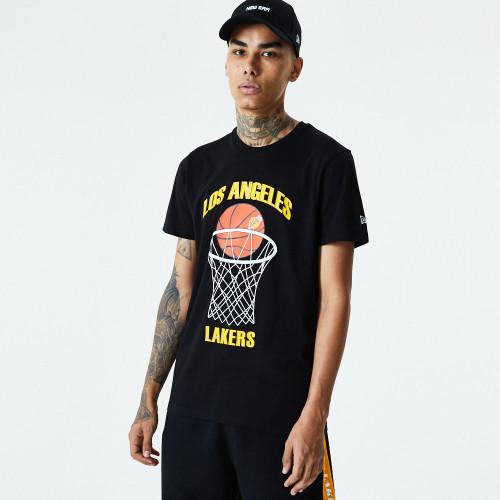New Era NBA Basketball T-Shirt ~ LA Lakers