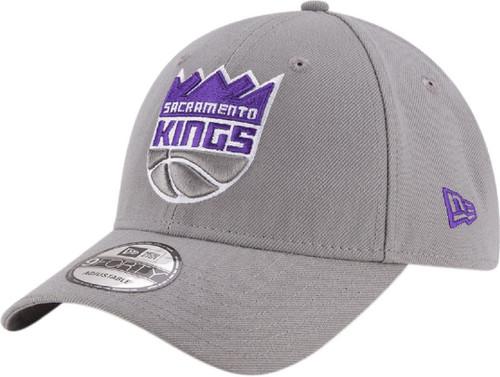 New Era 940 Adjustable League Cap ~ Sacramento Kings grey