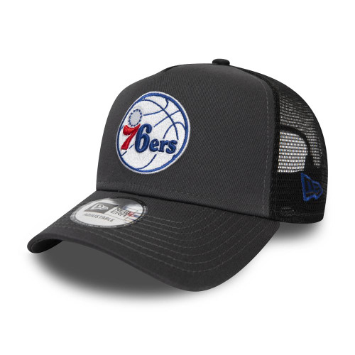 New Era Dark Base Team AF Trucker ~ Philadelphia 76ers