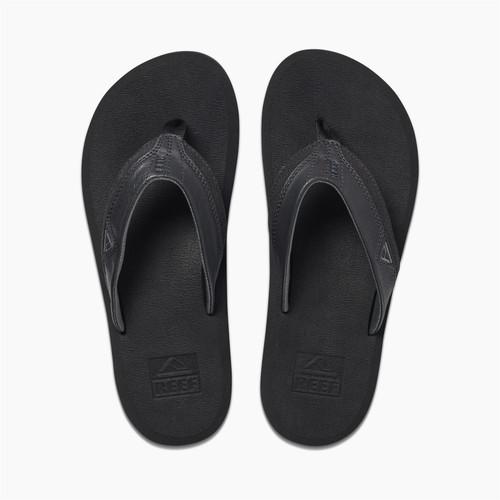Reef Mens Sandals ~ Cushion Dawn black