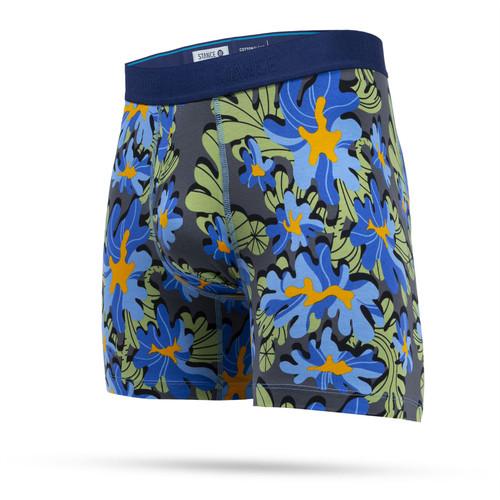Stance Men's Boxer Briefs ~ Amoeba blue