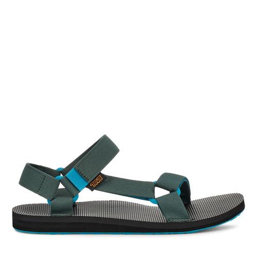 Teva Mens Walk And Hike Sandals ~ Original Universal shock green