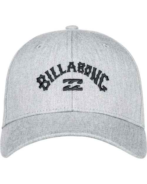 Billabong Mens Snapback Cap ~ Arch grey heather