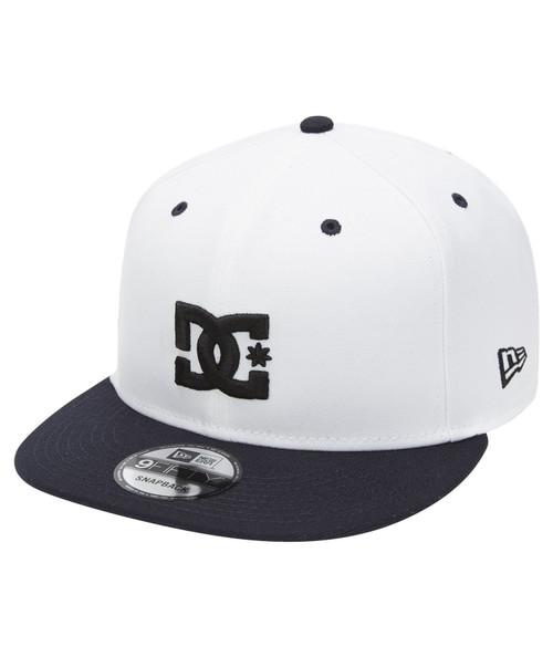 DC Shoes Mens Snapback Cap ~ Empire Fielder white