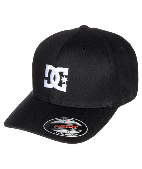 DC Shoes Mens Snapback Flexfit Cap ~ Cap Star black