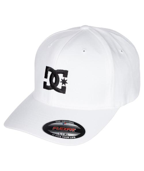 DC Shoes Mens Snapback Flexfit Cap ~ Cap Star white