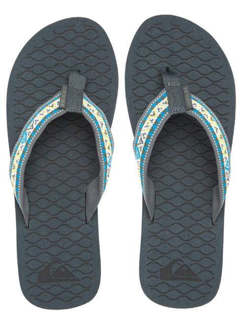 Quiksilver Mens Sandals ~ Hillcrest grey