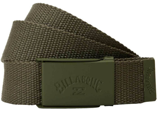 Billabong Woven Cotton Web Belt With Bottle Opener ~ Cog military2