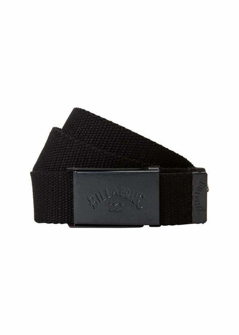 Billabong Woven Cotton Web Belt With Bottle Opener ~ Cog stealth