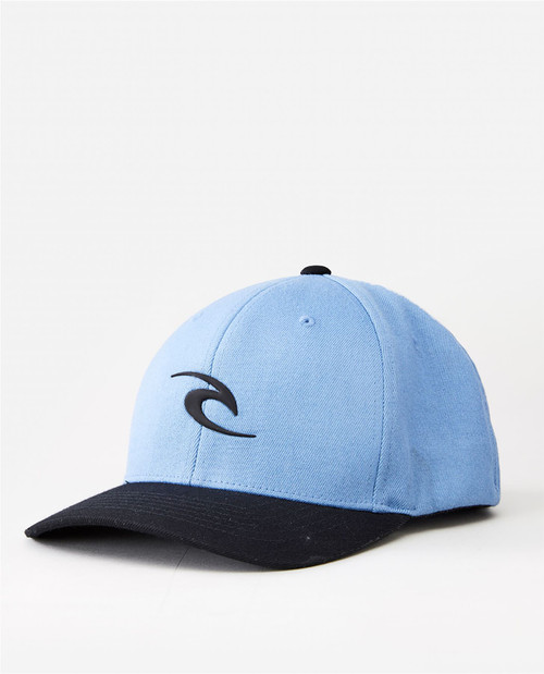 Rip Curl Men's Flexfit Cap ~ Tepan Weld dusty blue