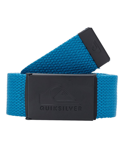 Quiksilver Woven Web Belt With Bottle Opener ~ Principal blue