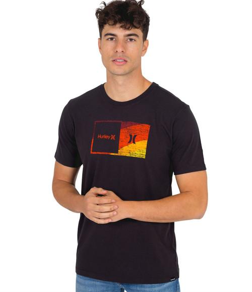 Hurley Men's T-Shirt ~ Everyday Wash Halfer black