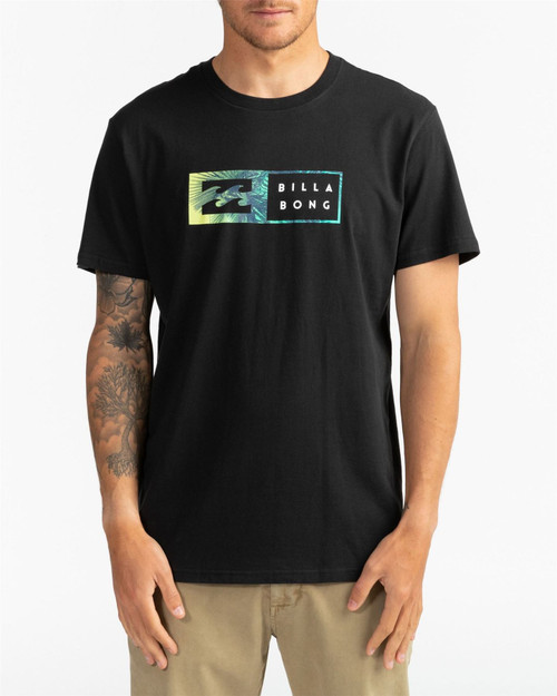 Billabong Men's T-Shirt ~ Inversed black
