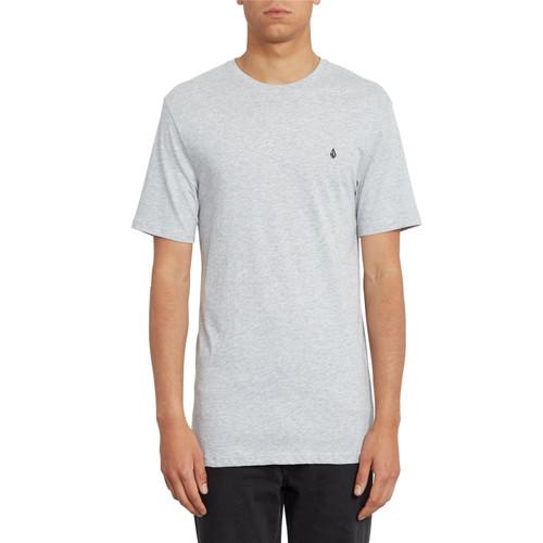 Volcom Men's T- Shirt ~ Stone Blanks grey