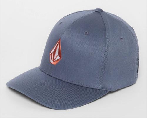 Volcom Men's Flexfit Cap ~ Full Stone Xfit CHB
