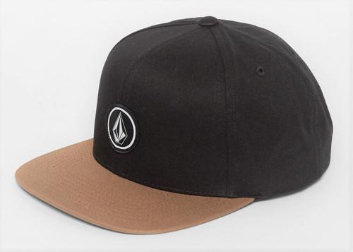 Volcom Men's Snapback Cap ~ Quarter Twill GBN
