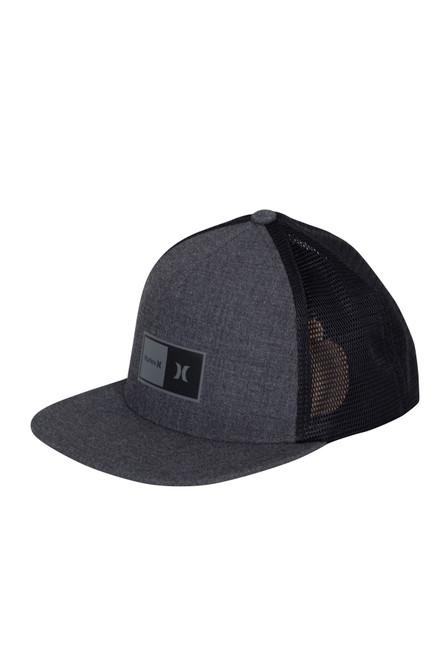 Hurley Men's Snapback Trucker Cap ~ Natural 2.0 Trucker dark grey