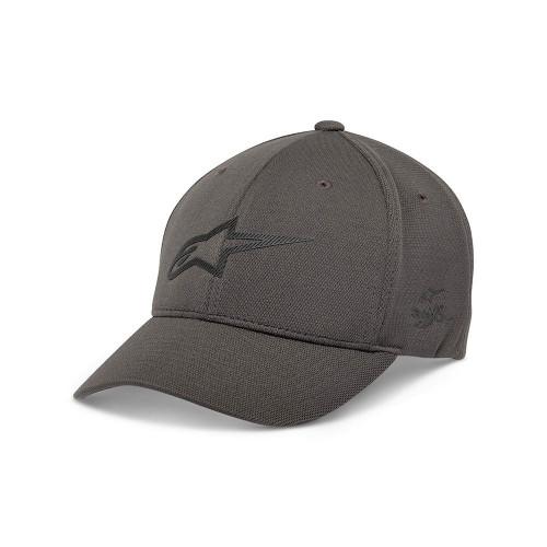 Alpinestars Men's Adjustable Cap ~ Ageless Velo Tech charcoal